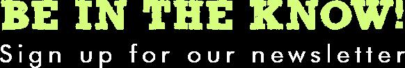 Shefit Newsletter Signup