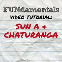 FUNdamentals: Sun A & Chaturanga