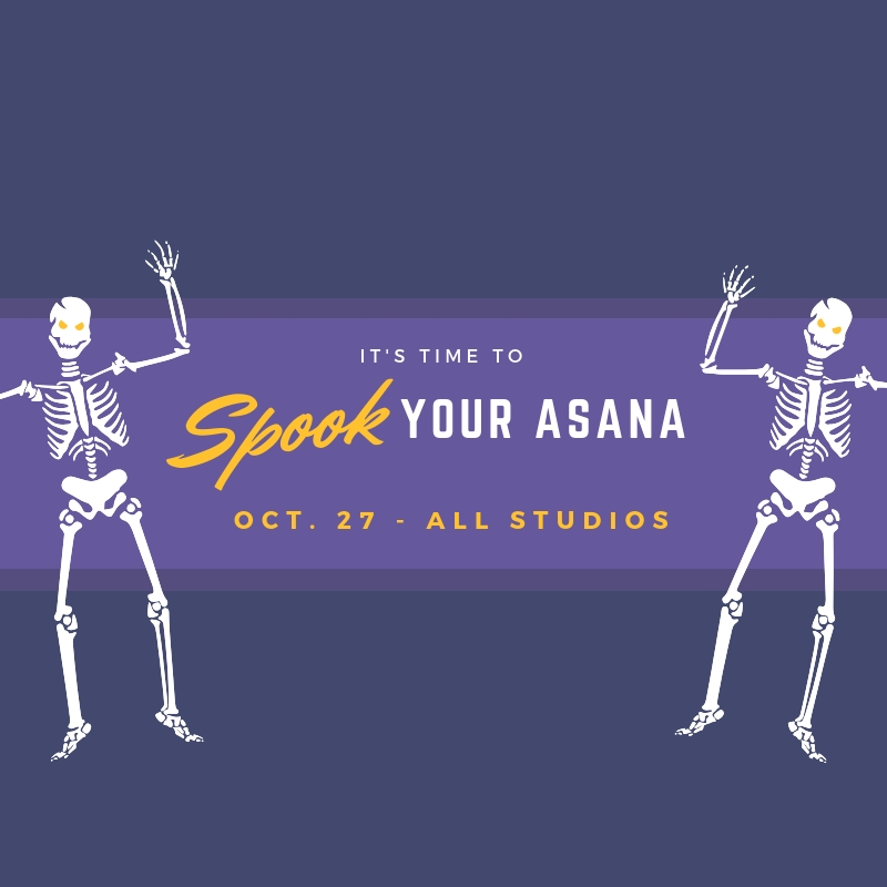 SPOOK Your Asana | All Studios
